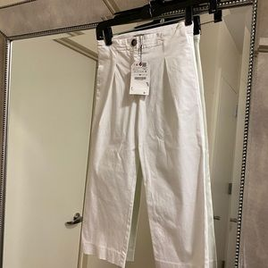 Zara Kids White Trousers